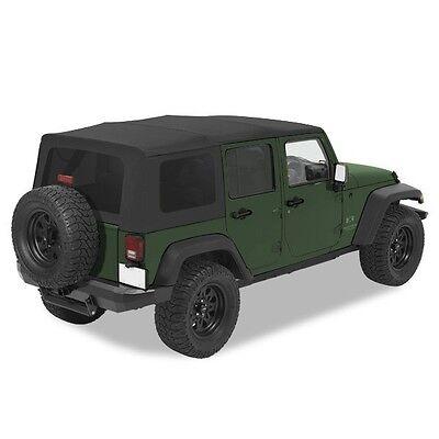 Pavement Ends Replay Top w/ Tinted - Black Diamond 10-18 Jeep Wrangler JK 4 Dr