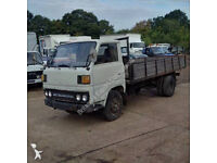 Left hand drive Mitsubishi Canter FE110 2.7 diesel 24 Volts 6 tyres 3.5 Ton truck.
