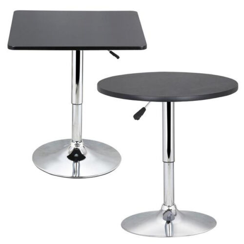 round type adjustable 360 swivel round kitchen bar table modern