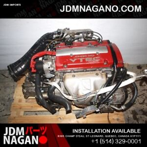 PRELUDE ACCORD TYPE S EURO R H22A 2.2L ENGINE T2W4 5 SPEED LSD T