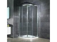 Shower Enclosure 900x900x1800 - VGC