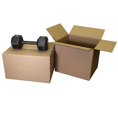 Heavy Duty Moving Boxes 1.75 Cubic Space 18x14x12 - 10pk