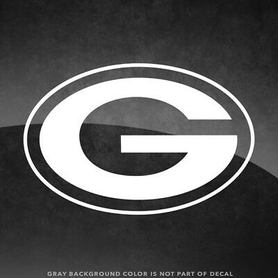 "Green Bay Packers NFL Vinyl Decal Sticker - 4"" and Larger - 30+ Color Options"
