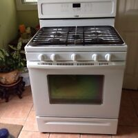 Whirlpool gold series gas oven