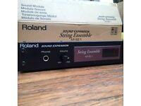 Roland mse1 string module midi boxed with manual mint
