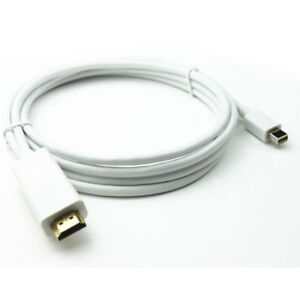 FOSMON - HD1834 Mini DisplayPort to HDMI Cable (6 FT)