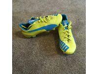 Kids Puma EvoSpeed 1.4 football boots size 1