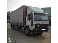 Left hand drive Volvo FL6 19 Supercharger 19 Ton curtainsider. Manual injector pump.