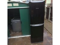 Hotpoint fridge freezer in black