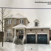 newmarket newhouse for rent (woodland hill)double door entrance