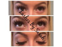 Offer on Eyelash Extensions only £30 for mobile appointments, Sienna x spray tans also £15