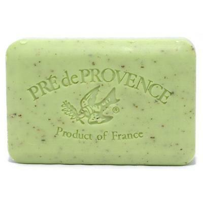 Pre De Provence French Bar Soap Lime Zest 250g 8.8 Ounce Shea Butter (Lime Zest)