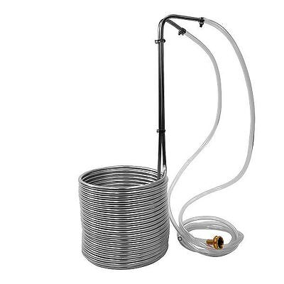 Ny Brew Supply 50 Stainless Steel Wort Chiller   Homebrew Immersion Chiller