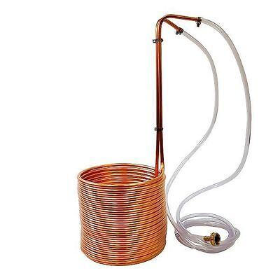 Ny Brew Supply 50 Copper Wort Chiller 3 8    Beer Homebrew Immersion