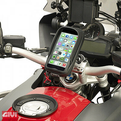 GIVI S957B I-Phone 6 Plus Samsung Note 4 universal Smartphone tasche Navitasche