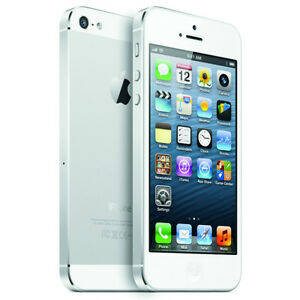 FS- bell/virgin apple iphone 5s white with  chargers