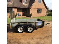 IFOR WILLIAMS GD85 PLANT TRAILER - 8ft X 5ft - 2700kg Gross Capacity