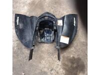 Quad bike rear plastics