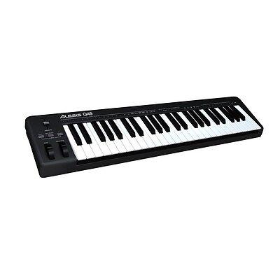 Alesis Q49 49-Key USB MIDI Mac PC Home Studio Keyboard Controller inc Warranty
