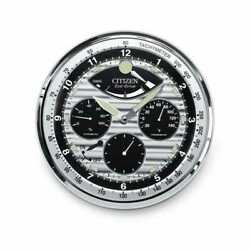 *BRAND NEW* Citizen Decorative Gallery Chronograph Looking Wall Clock CC2013