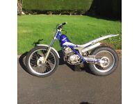 Scorpa 125 4t Trial bike At JOHN WHITES today