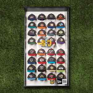 NFL Mini-Cap Gold Collection with Case BRAND NEW Limited Edition