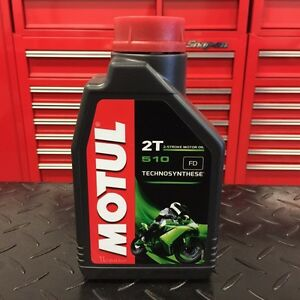 Motul 2T 2 Stroke Motor Oil 510 Semi Synthetic Honda CR YZ 125