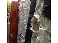 Rolls of thick bamboo screening 1.8m high x 1.8m wide Red Bamboo or White Bamboo