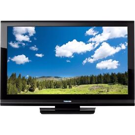 "32"" black lcd TV with built in FREEVIEW HDMI and remote control excellent picture can deliver"