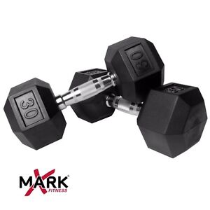 LOOKING for 2-Rubber Hex Dumbbells 30 LBS