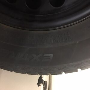 Continental Extreme Winter Contact Tires on Genuine VW Rims Kitchener / Waterloo Kitchener Area image 3