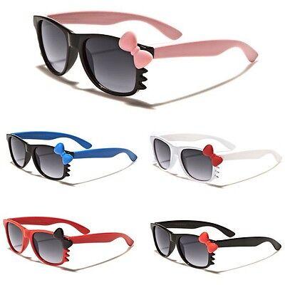 Hello Kitty Kids BABY TODDLER Girls Boy Sunglasses Black White Pink Cute (Baby Sun Glasses)