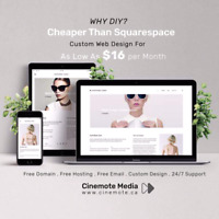 All inclusive website package only $16/month