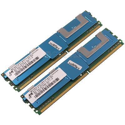Micron 8GB 2Rx4 PC2-5300F DDR2 ECC Fully Buffered RAM MT36HTS1G72FY//Z-667A1D4