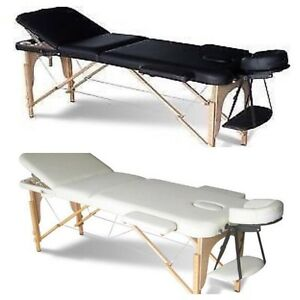 Table de massage portable 3 sections 28""