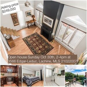 Open house Sunday Oct 30th, 2-4pm at 3566 Edgar-Leduc, Lachine West Island Greater Montréal image 1