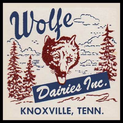 Wolf Dairies Knoxville Tennessee Fridge Magnet