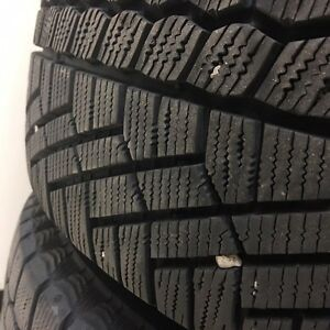 Continental Extreme Winter Contact Tires on Genuine VW Rims Kitchener / Waterloo Kitchener Area image 4