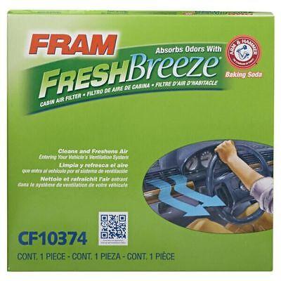 FRAM CF10374 Fresh Breeze Cabin Air Filter with Arm & Hammer Fresh Air Filter
