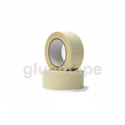 Masking Tape 2 Inch 60 Yards White Paper General Purpose 1 Case 18 Rolls