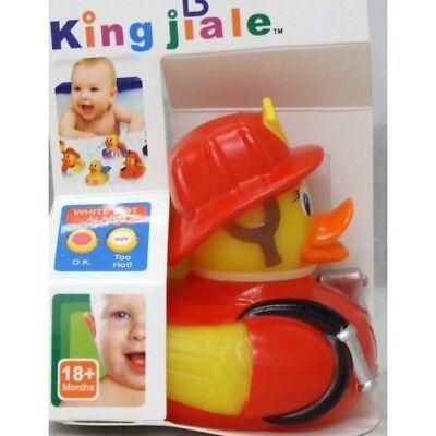 Children Rubber Colour Changing Heat Safety Fun Kids Bath Toy Baby Duck Fireman