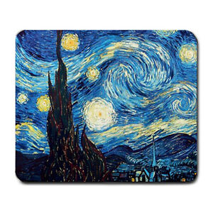 Starry Night Van Gogh Mouse Pad MP1042