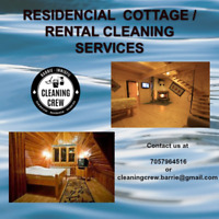 RENTAL PROPERTIES / COTTAGE CLEANING SERVICE