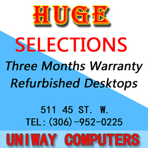 Refurbished Desktop Computers start from $99 UNIWAY
