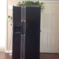 Kenmore refrigerator with cubic ice maker