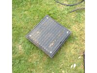 Inspection cover and drain