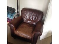Reclining Leather Chair - FREE