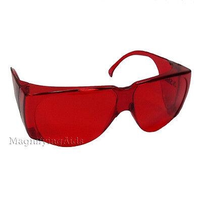 NoIR N90 UV Shield Glasses 14% Medium Red Non-Fitover, Saftey Color (Noir Uv Shield Glasses)