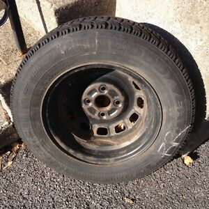 Honda Tercell tires and rims