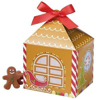 Wilton Treat Boxes (Gingerbread Christmas Treat Boxes 4 ct  from Wilton #0310 -)